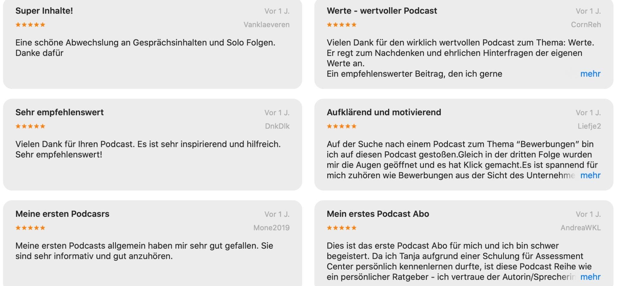 Rezensionen Podcast